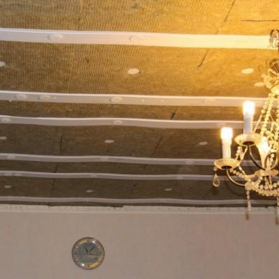 Как правильно звукоизолировать перекрытие потолка в квартире под натяжной потолок